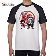 Men Women T Shirts 3D Dragon Ball Z Master Roshi Graphic Tees White Casual Anime Printed Tee Tops Unisex Summer T-shirt