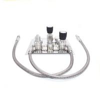Stainless steel High pressure co2 Gas control panel pressure regulator