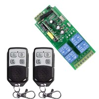 Smart Home AC 110V 250V 4CH 10A Relay Wireless Remote Control Switch Wireless Relay 220v 315Mhz