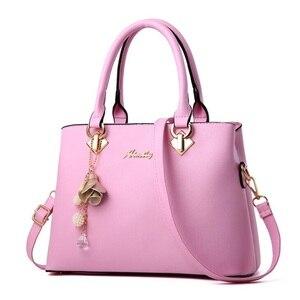 Image 5 - Fgjllogjgso novo 2019 moda tote senhora grande bolsa para bolsas de luxo bolsas femininas designer crossbody sacos de couro feminino bolsa