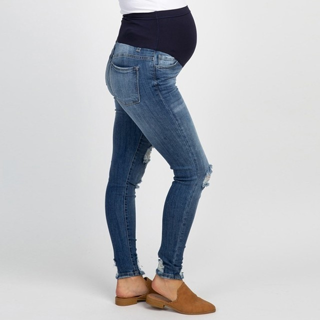 Hot-Mama Maternity Jeans