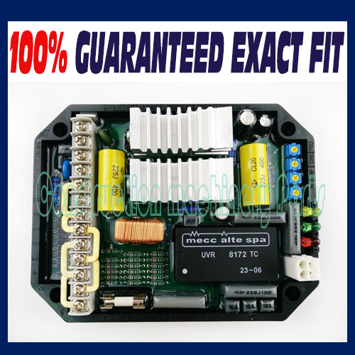 New AVR UVR6 for Mecc Alte Spa Generator
