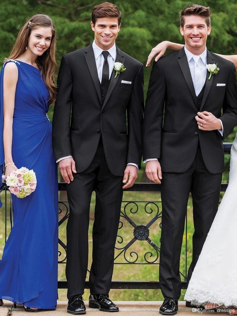 New Mens Wedding Suits Groom Suits Bridal Tuxedos Formal Occasion