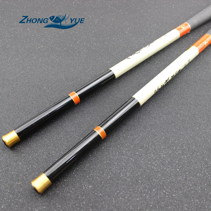 High quality Carbon fiber fishing feeder rod telescopic pole spinning ultra light fish fishing rods stream carp rod 2.1-5.4m