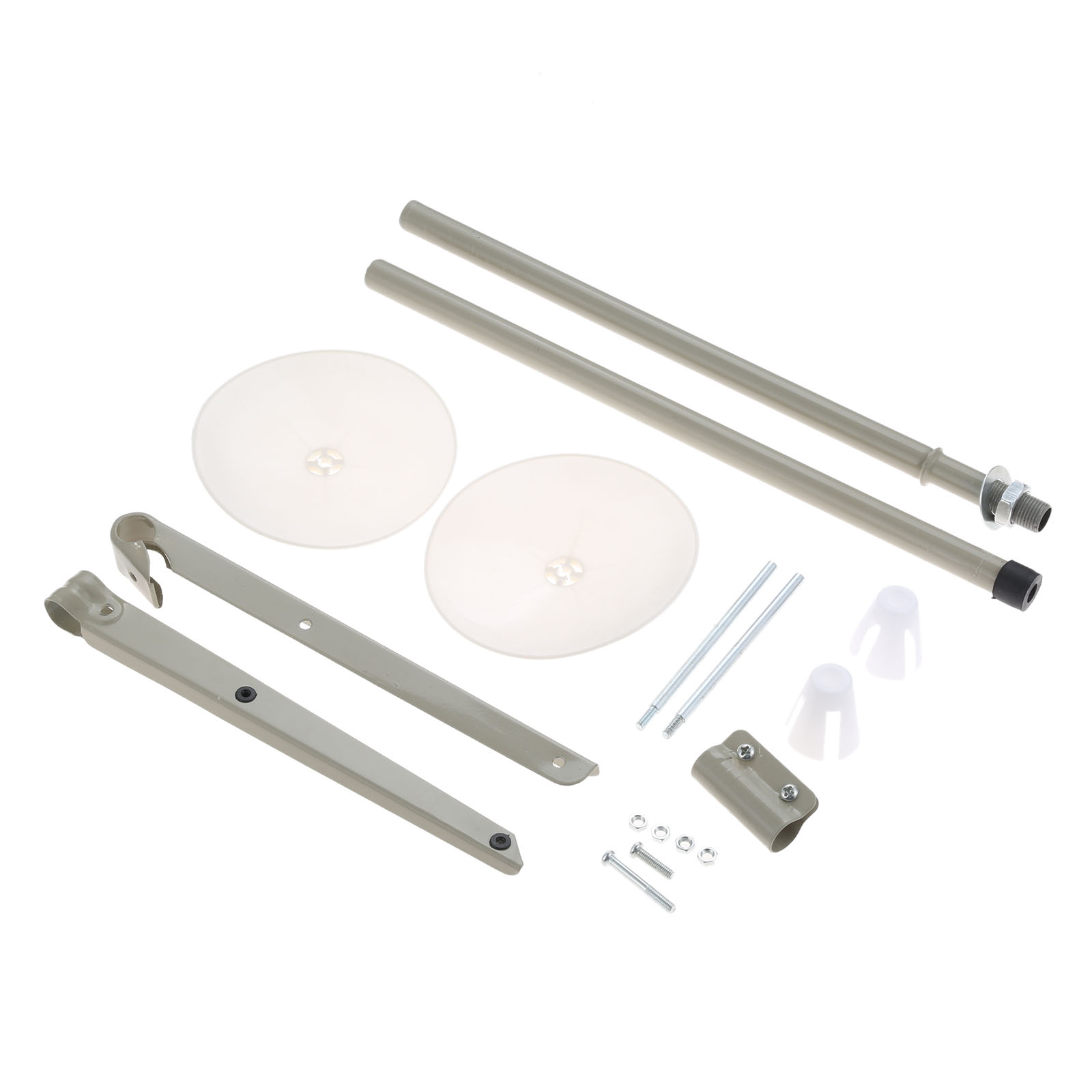 Image 4 - 1 Set 2 Spool Thread Stand Pipe Thru Top Sewing Machine Cone Spool Thread Holder Fixer Metal for Industrial Sewing Machines C F2Sewing Tools & Accessory   -