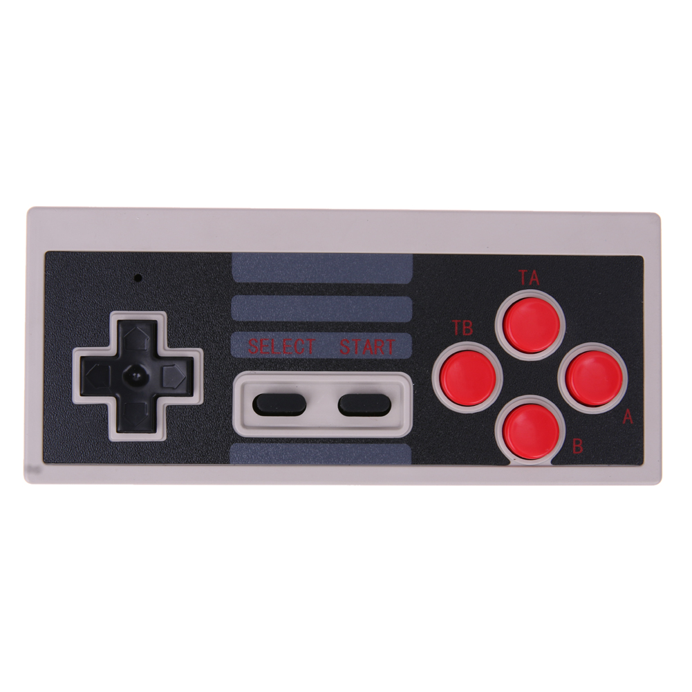 Wireless USB Plug and Play Game Controller Classic Universal Gamepad Handle with Wireless Receiver for Nintendo for NES