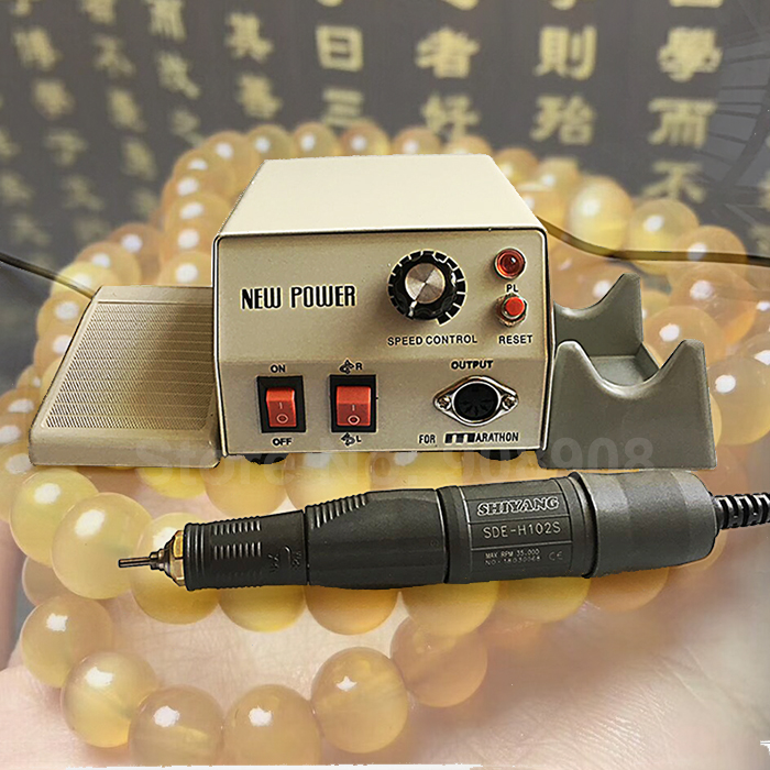 все цены на New Dental Laboratory Jewellery Hobby Nail File Machine MARATHON 168 Brush Micromotor with 35000 rpm H102S Screw Driver Dremel онлайн