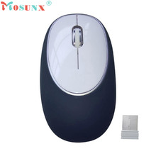 Reliable 2.4GHz 1200DPI Wireless Optical Silicone Mouse USB Scroll Mice for Tablet Laptop Computer(China)
