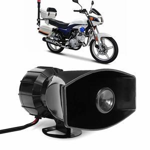 Image 3 - Dragonpad 100W 7 Sound Car Electronic Warning Siren Motorcycle Alarm Firemen Ambulance Loudspeaker with MIC Air Loud Car Horn