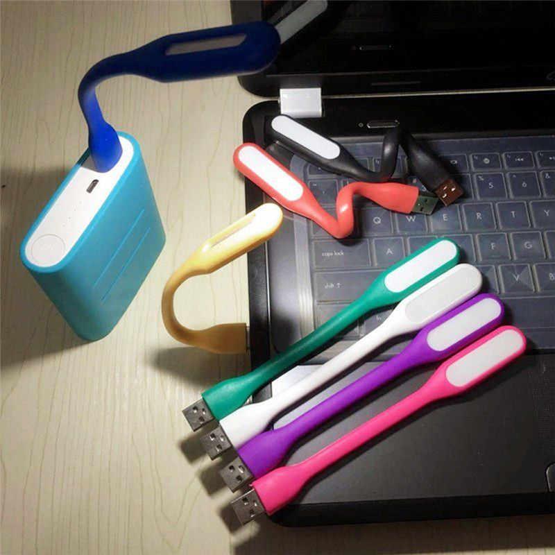 Mini Lámpara USB de luz LED de lectura Flexible brillante para ordenador portátil Laptop PC