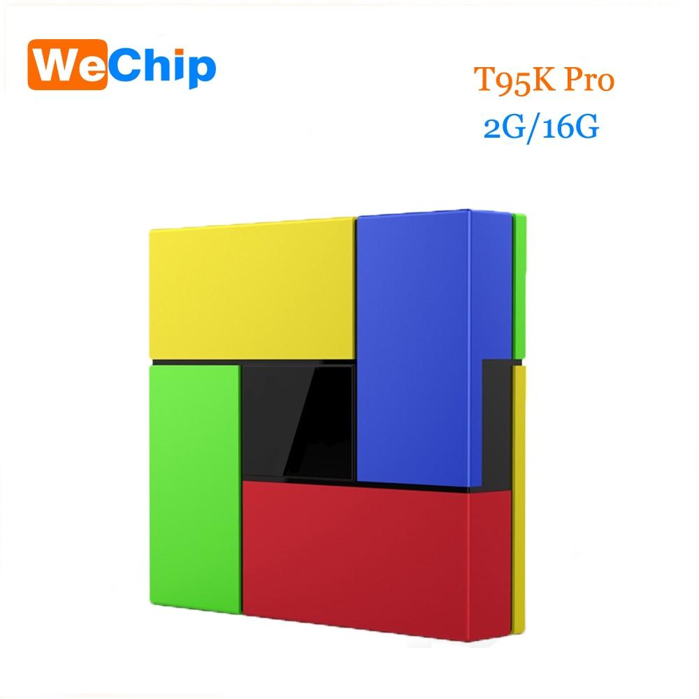 T95K PRO Amlogic S912 Android TV box 2G 16G Octa Core KODI Dual WIFI Bluetooth UHD 4K H.265 HDR 3D Media Player PK X96 T95N M8S t95x amlogic s905x android 6 0 tv box 2g 8g 2g 16g quad core 100lan wifi h 265 16 1 full pre installed media player box