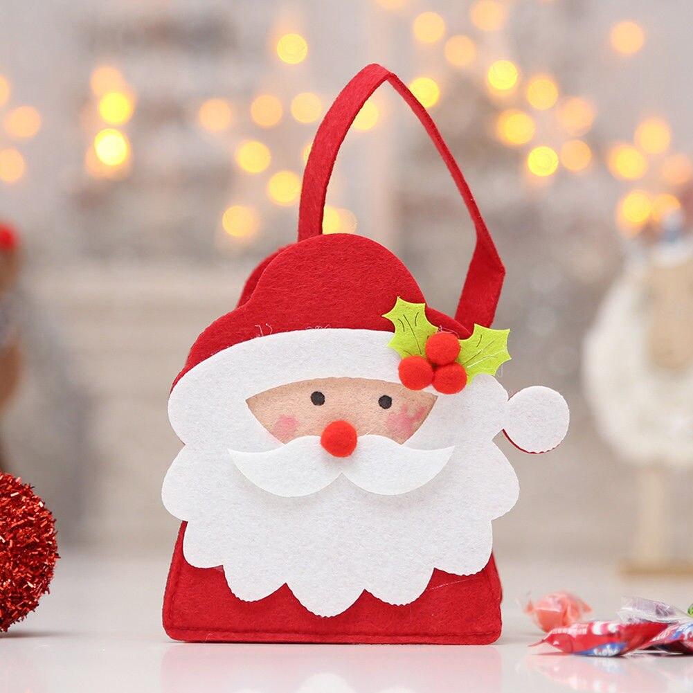 Christmas Gift Bags Cute Christmas Scene Candy Gift Bag ...