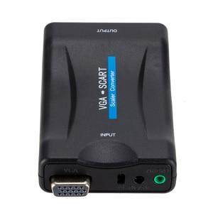 Image 5 - 1080P VGA к SCART видео аудио конвертер адаптер + пульт дистанционного управления + USB кабель + VGA кабели