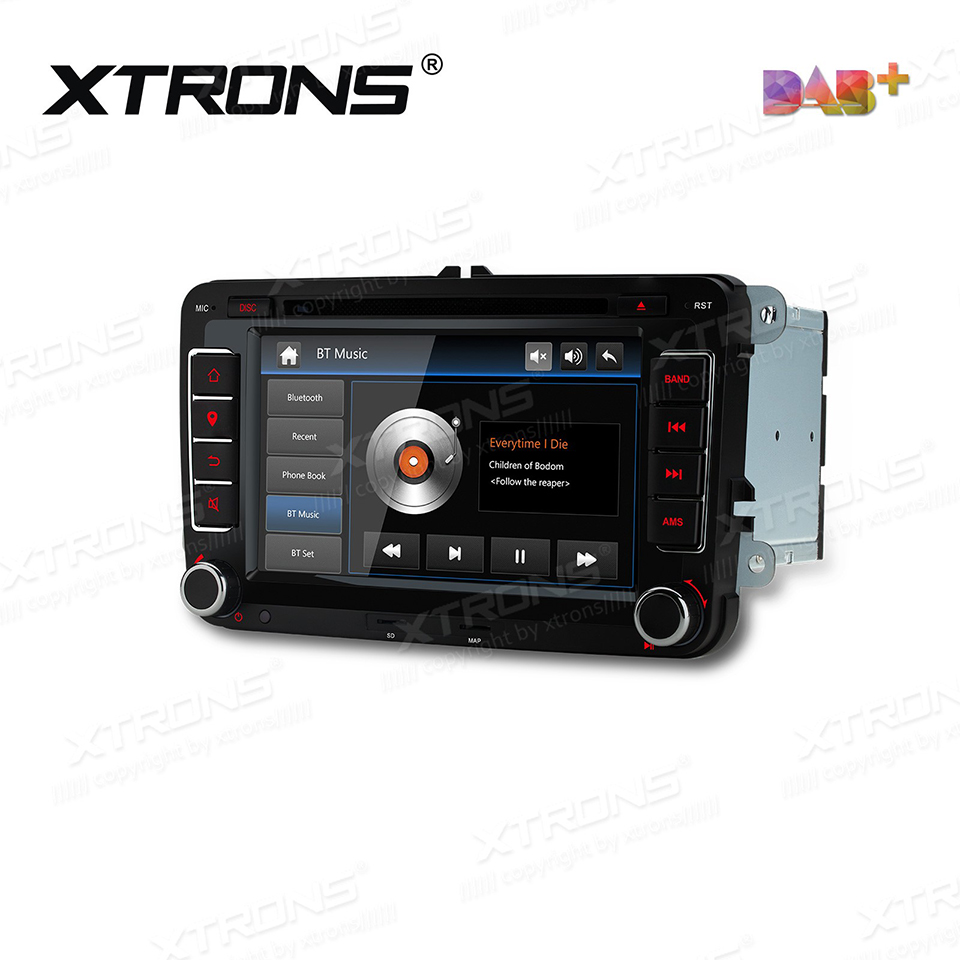 7 DAB+ Radio Car DVD Player GPS For Volkswagen VW Skoda Seat Amarok Beetle Bora Caddy Eos Golf Passat T5 Auto 2 Din RDS Stereo