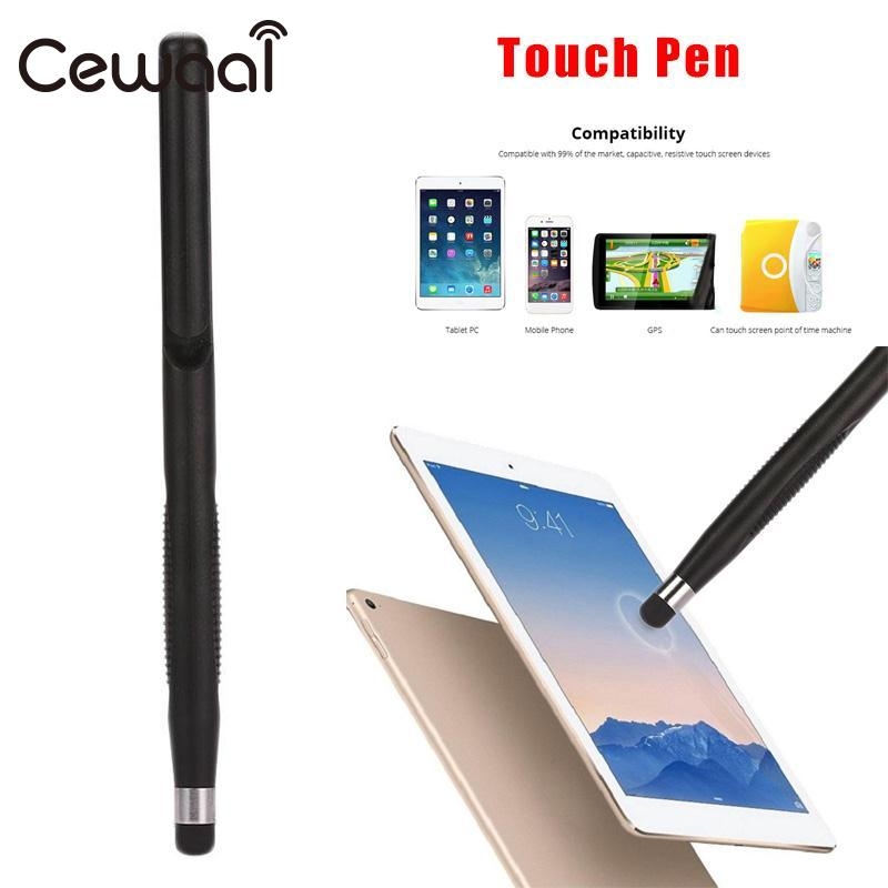 2 in 1 Multifunction Universal Capacitive Pen Touch Screen Point Stylus Pen Ballpoint Pencil For Mobile Phone PC Tablet Laptop 2 in 1 capacitive touch screen stylus pen w ballpoint pen for iphone ipad ipod red silver