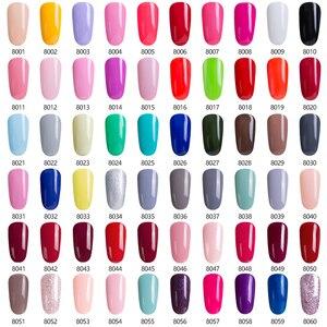 Image 4 - Modelones 12 adet/grup pembe renk serisi UV jel oje tırnak sanat kapalı emmek tırnak hibrid vernik yarı kalıcı UV tırnak emaye
