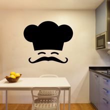 Removable Chef Wall Stickers Diy Wallpaper For Kitchen Room Vinyl Wall Decal Mural Restaurant Wall Sticker стоимость