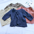 wholesale girl blouse toddler baby girl tops linen clothes kids girl clothings 1-2-3-4yrs