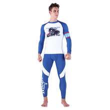 Man spandex rash wetsuit compression tights wears quick dry body suit Surfing Shirt Sunscreen Surf Rash Guard Men NY014