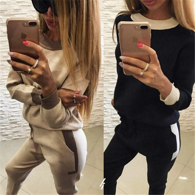 Real Full Pockets O-neck Drawstring Crop Top And Skirt Set Europe And The New Girl Fashion Leisure Wind Lady Suit