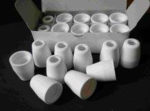 40amp plasma de ar corte cerâmica escudo copo para cut40d cut50d PT 31 lg40 tocha arma 20 pçs