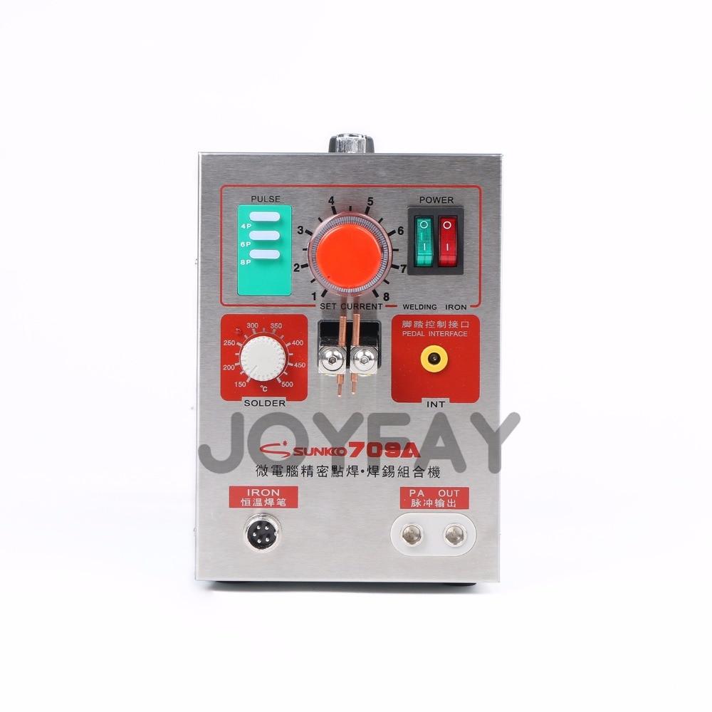 Zgrzewarka punktowa SUNKKO 709A Akumulatorowa zgrzewarka punktowa do - Sprzęt spawalniczy - Zdjęcie 4