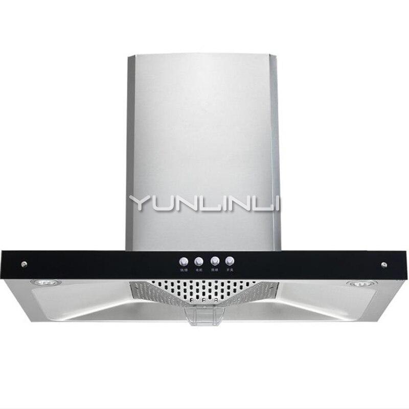 цена на Household Range Wood Top Suction Type Kitchen Ventilator Lagre Suction Oil Smoke Exhauster CD-4D26