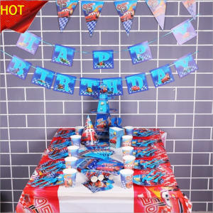 QWWSS car Theme Birthday Party Decor Napkin Party Supplies