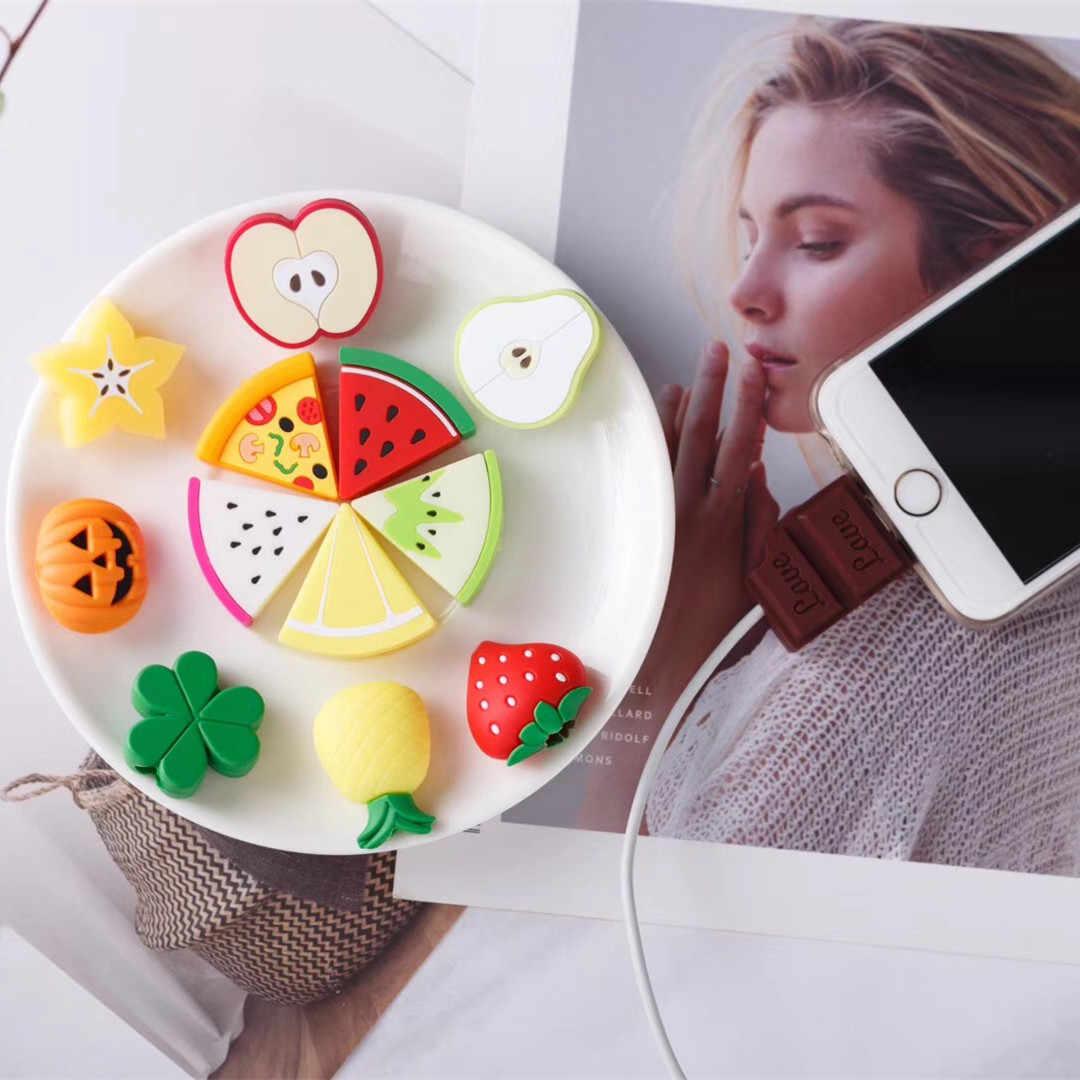 Indah Kabel Pelindung Phone Case untuk iPhone 4 4 S 5 5 S 6 6 S 7 Plus 8 ditambah 7 8 Plus X XS Max XR Kasus Mewah untuk iPhone 7 Plus