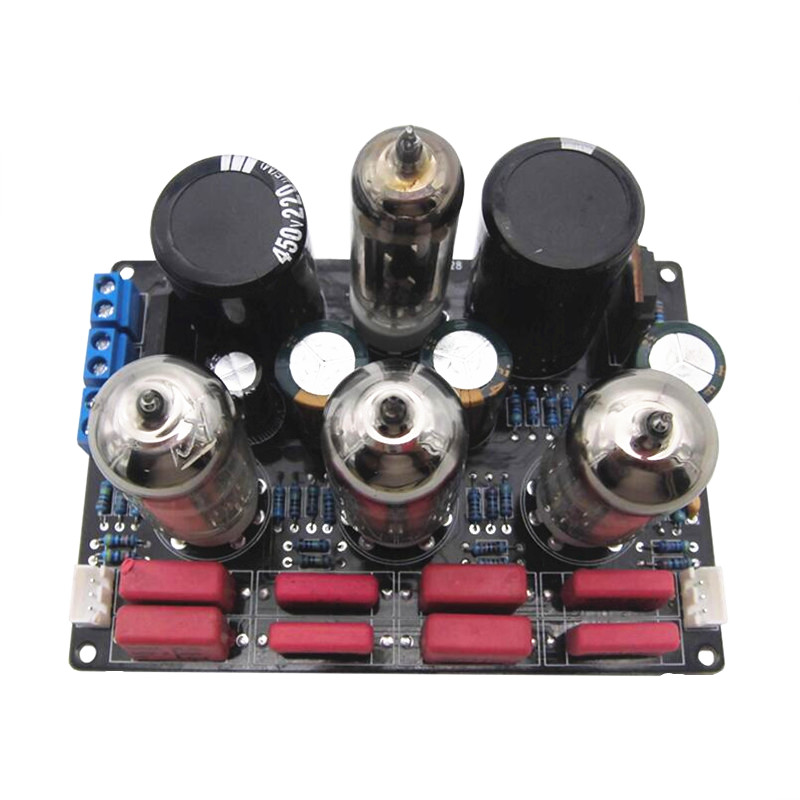 6Z4 6N4 Tube pre amplifier audio power amplifier Reference Marantz 7 Circuit finished board/kit цена