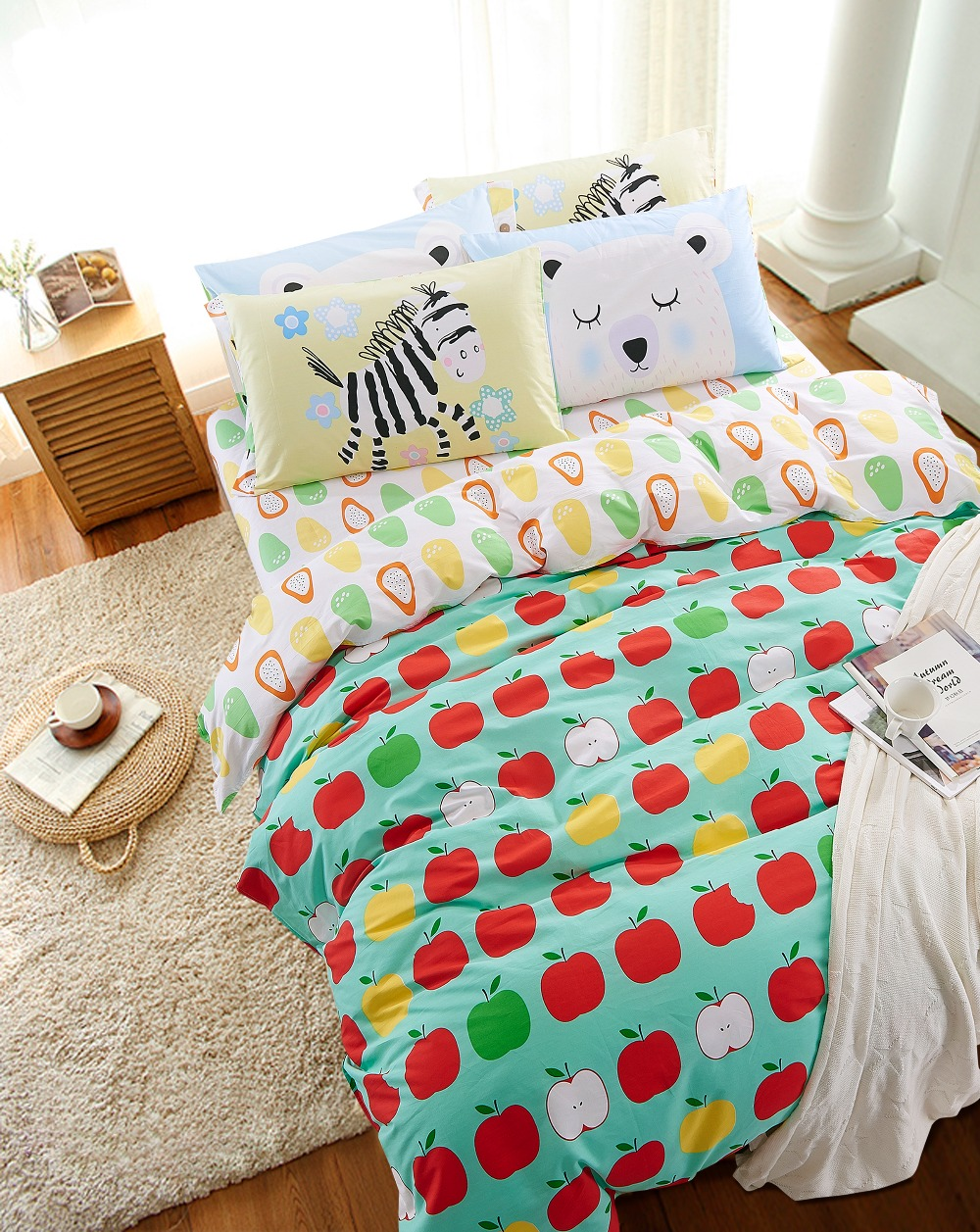 Pineapple Twin Bed Set