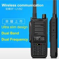 New Baofeng UV B2 UV-6RA Walkie Talkie 5-10W High Power Handheld Ham Two Way Radio VHF UHF UV Dual Band Transceiver For Hunting