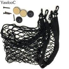 70×70 cm Universal Bagagem Mala Do Carro De Carga De Armazenamento Organizador Nylon Elastic Malha Net Com 4 Ganchos De Plástico Acessórios