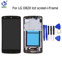 For LG Google Nexus 5 D820 D821 LCD Display Touch Screen Digitizer with Bezel Frame Full Assembly Replacement