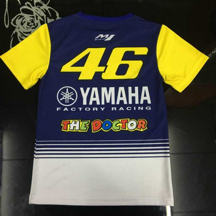 MOTOGP VR46 Kids T-SHIRT Fit for Childrens Motorcycle Leisure t-shirtThe DoctorRossi M1 Racing Team Kid T-shirt