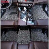 Yuzhe Авто Пол ноги коврик для Mitsubishi ASX Lancer Sport EX Зингер Fortis Outlander Grandis автомобильные аксессуары для укладки