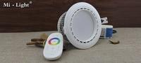 mi light  12w led  rgbw spotlight ac110-240v input with remote control rgbw down light with wifi control