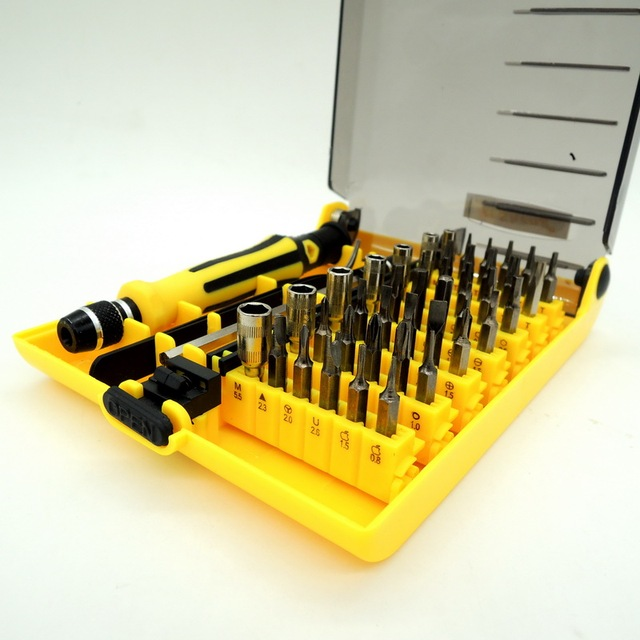 Precision Screwdriver Set 45 In 1 Magnetic Screw Driver Tool Kit Torx For Mobile Phone Repair Tools