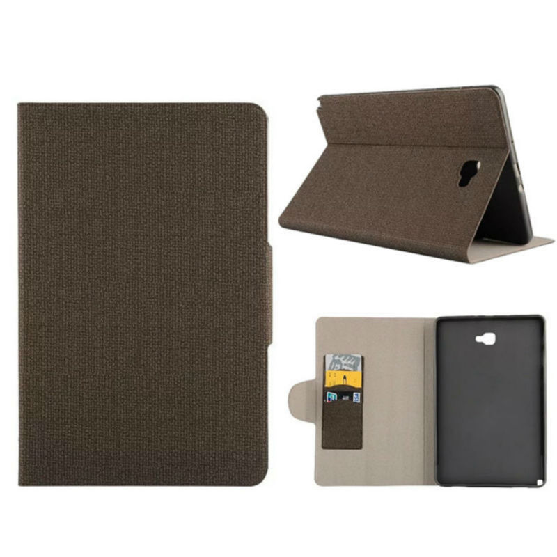 Tablet Case For Samsung Galaxy Tab A 10 1 P585 P580 Flip Leather Case Cover Slim