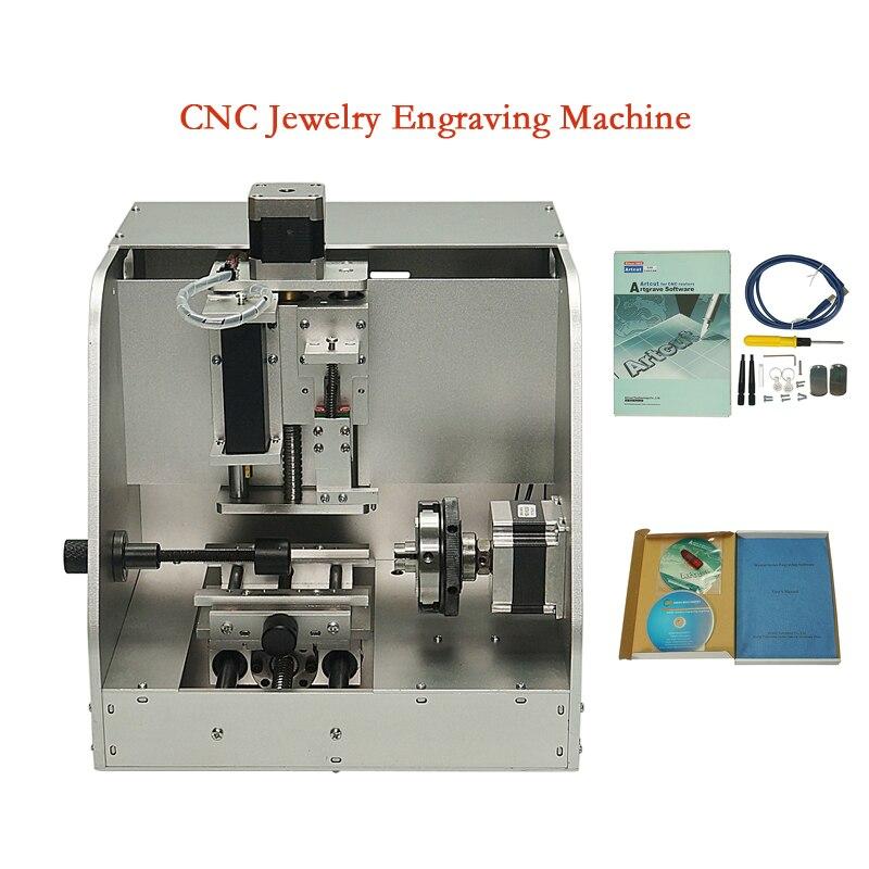 DIY CNC ювелирные изделия фрезерный станок LY 40 браслет гравер CNC маршрутизатор USB кольцо резьба металлическая маркировочная машина