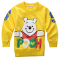 2016 Winter Autumn Sweatshirts Baby Boys Girls Cotton Jumper Tracksuits Tops Hoodies Baby Clothes