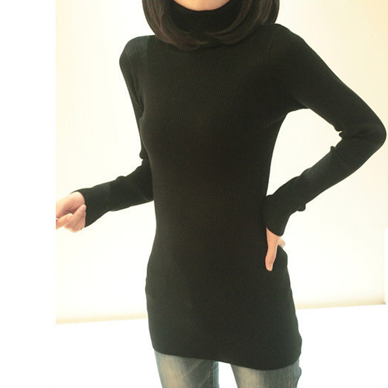 Las para mujer de la muchacha otoño invierno Casual Pull over Relaxed fit Knit b