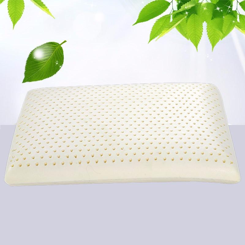 Peter Khanun Natural Latex Adult Bedding Cervica Vertebrae Massage Pillow Health Neck Bonded Head Care Memory
