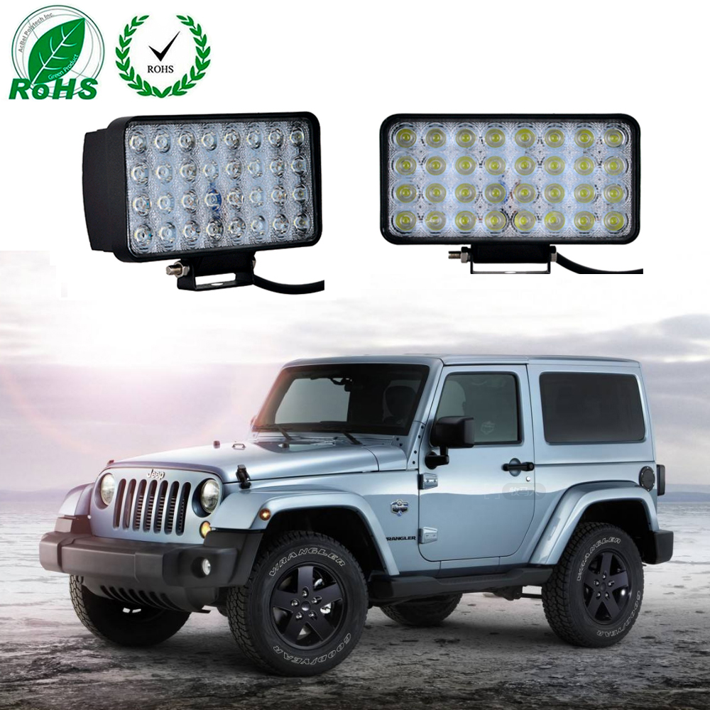 1 Pcs 96W LED Work Light Bar Spot Worklight Driving Lamp LED Working Light for Jeep Cabin Boat Off Road SUV Truck Car ATV 12V