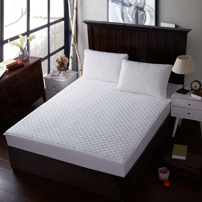 Cotton White Mattress Cover Separated Anti Dust Mite mattress protector home four seasons covers for mattresses