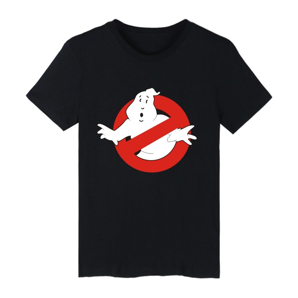 LUCKYFRIDAYF 2017 Ghostbusters Movie Cotton T-shirts