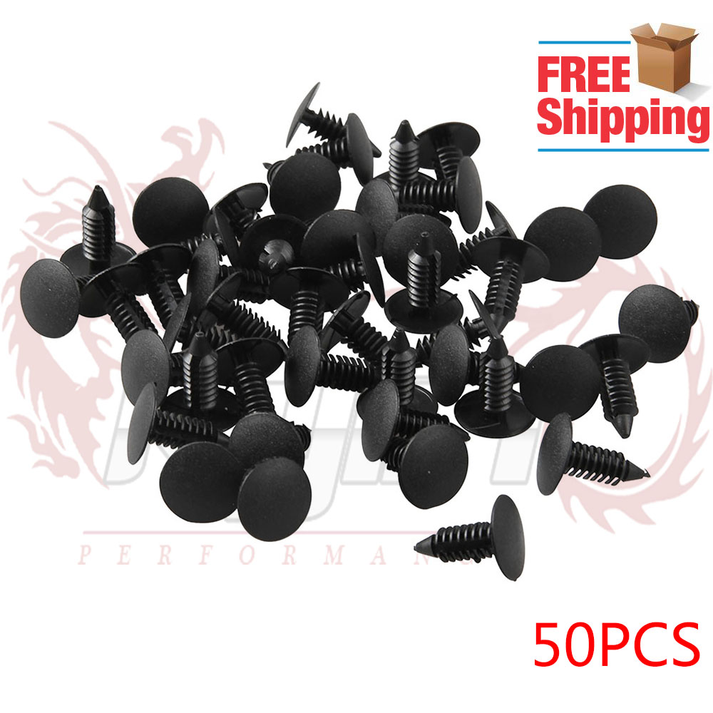 50 New Bumper Fender Grille Shield Retainer Fasteners for Cadillac Escalade