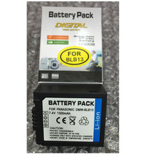 DMW-BLB13 lithium batteries pack DMW BLB13 Digital camera Battery BLB13 For Panasonic Lumix DMC-GF1 G1 GH1 G10 G2