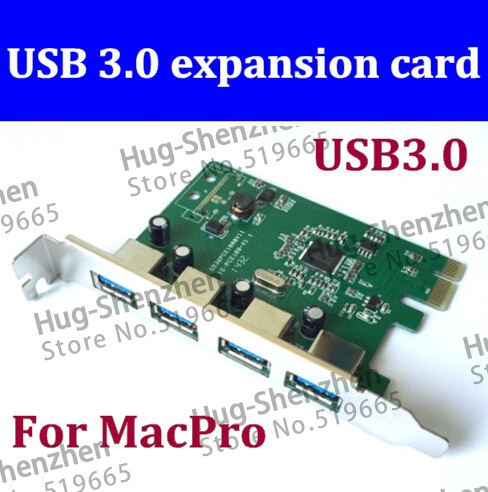 usb 3.0 pci express card mac