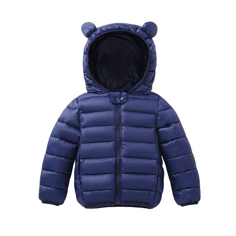 COOTELILI Cute Bear Children's Parkas Winter Jacket For Girls Boys Infant Overcoat Winter Children Coats Warm Kids Jacket Baby  (7)